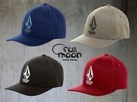 New Volcom Miter Mens XFit Full Stone Flex Cap Hat