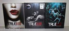 True Blood - Seasons 1 2 3 - Complete DVD Box Sets - LIKE NEW-FREE USA SHIPPING
