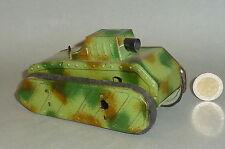 Alter früher Gama Panzer / Tank mit Uhrwerk & Knallgeräusch