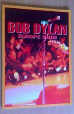 Bob Dylan - 2002 Tour programme