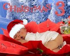 CH3 Christmas Digital backdrops Template Photo Backgrounds Holiday Prop New Year