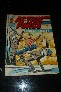 ACTION FORCE - No 15 - Date 13/06/1987 - Marvel Comic