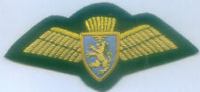 UK British Caledonian Airways Airline Uniform Captain Crew Pilot Wing Patch Scot