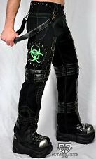 Cryoflesh Biohazard Cyber Goth Punk Rave Industrial Tactical EBM Pants Small