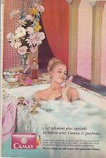 PUBLICITE ADVERTISING 014 1967 CAMAY savon parfumé