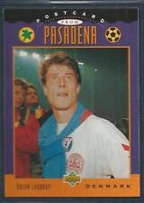 UPPER DECK WORLD CUP USA 1994- #301-DENMARK & RANGERS-BRIAN LAUDRUP