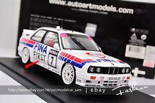 AutoArt 1:18 BMW M3 (E30) FINA-DTM 1992