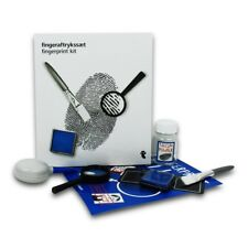 FingerPrint Dusting Kit Forensic Science CSI Spy Set Detective Educational Toy