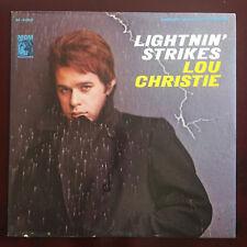LIGHTNIN' STRIKES Lou Christie M- vinyl   VG+ cover STEREO - Lightning