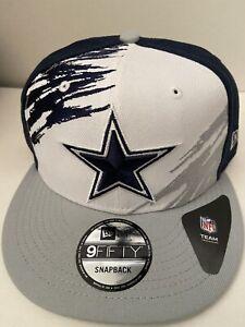 Dallas Cowboys NFL New Era Snapback Splatter Men's OSFM Hat