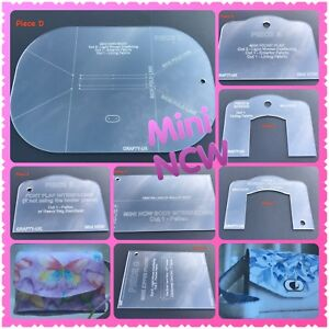 Mini NCW Necessary Clutch Wallet Templates Set