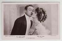 "POSTCARD - Lily Elsie & Joseph Coyne, theatre actress actor in ""The Merry Widow"""