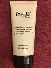 Philosophy purity made simple deep-clean mask 6 oz *BRAND NEW SEALED*
