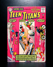 COMICS: DC: Showcase #59 (1965), 3rd Teen Titans/1st Flips app - RARE (flash)