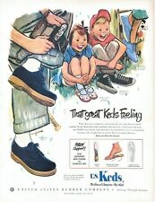 1950 Keds Shoes Vintage Print Ad That Great Keds Feeling