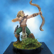 Painted Ral Partha Crucible Miniature Royal Elf Archer