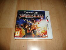 SAMURAI WARRIORS CHRONICLES DE TECMO KOEI PARA LA NINTENDO 3DS NUEVO PRECINTADO