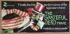 Vintage Original 1977 'Grateful Dead Movie' Poster Monterey Home Video BGP GDP