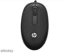 Original HP FM110 USB Optical Mouse For Laptop PC MAC,Original Retail Box