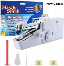Handheld Sewing Machine, Cordless Electric Quick Handy Stitch for Home or Travel