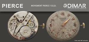 Vintage Original Bewegung / Bewegung Pierce 132-D. 32mm