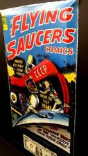 Flying Saucers Comics  in 3-D large 11x17