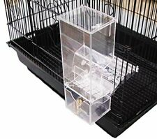 Birds LOVE Bird Feeder Seed Catcher Tray Hanging Cup Food Dish for Cage for...