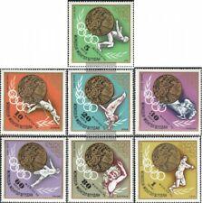 Mongolië 748-754 (compleet.Kwestie.) MNH 1972 Kampioenen `72, Munchen