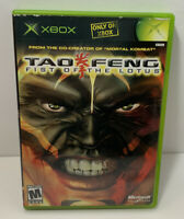 Tao Feng  Fist of the Lotus  Microsoft Xbox  2003