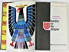 Heraldry for the Designer 1969 William Metzig Ex Library Coat of Arms Charges