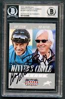 Bob Baffert & Gary Stevens signed autograph 2015 Americana Winner's Circle BAS
