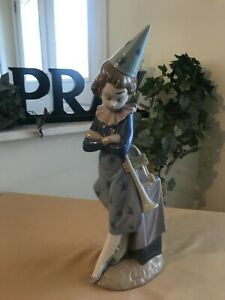 LLADRO CLOWN WITH TRUMPET # 5060 MINT CONDITION FAST SHIPPING!!!