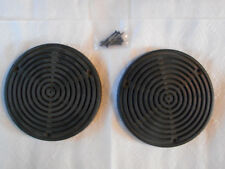 Mercedes Benz W116 Rear Speaker Cover Set round speakers