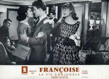 MARIE -JOSE NAT JACQUES CHARRIER LA VIE CONJUGALE 1964 LOBBY CARD ORIGINAL #14