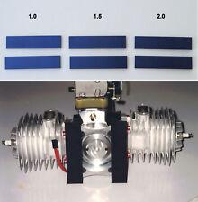 NEW — RC AIRCRAFT PART — THRUST STRIPS  —  Engine Motor Mount Thrust Wedge