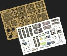 Paragrafix 1/32 Flying Sub Interior Photo-Etch & Decal Set 117 for Moebius