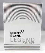 Legend SPIRIT By Mont Blanc 3.3 Oz. Eau De Toilette Spray For Men SEALED NIB
