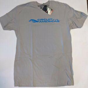 Circuit of the Americas Mens Licensed Men's Logo T-shirt NWT L