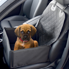 2 In 1 Dog Booster Car Seat Cover | Waterproof Pet Carrier Protector | Pukkr