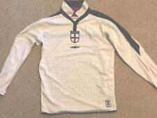 2003-05 Vintage  England Umbro Football Shirt/Jersey. Used. Large. Long Sleeve.