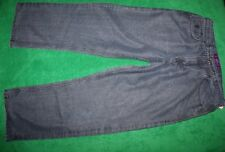 Men's Roca Wear Loose Fit Baggy Black Wash Jeans Cotton Blend 38 x 33