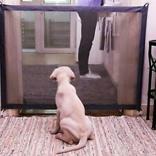 Pet Dog Safety Enclosure Gate Safe-Guard Ingenious Mesh Magic Isolation Network
