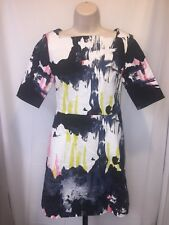 KATE SPADE Saturday Colorful Print Shift Dress Size 4/6