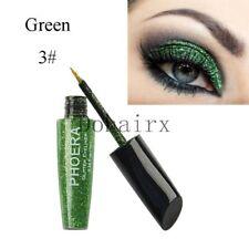 Waterproof Shimmer Eyeshadow Glitter Colorful Liquid Eyeliner Metallic Cosmetics A3