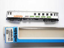 AUSSTELLUNGSWAGEN Personenwagen passenger car, Märklin #4122 in 1:87 H0 boxed!