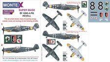 Montex Super Mask 1:32 Bf-109 G-4 for Revell Kit Spraying Stencil #K32293