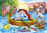 "Disney Oil Painting Print on Canvas-Ariel & Eric ""Kiss the Girl"" Little Mermaid!"
