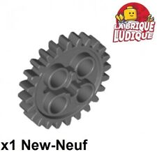 Lego technic - 1x engrenage pignon gear 24 tooth gris foncé/dark b gray 3648 NEW