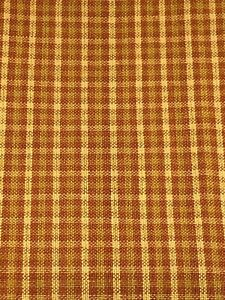 Fall Woven Plaid Fabric 100% Cotton Fabric Unbranded 1 7/8 Yards