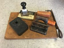 LOT OF Old Vintage Office Desk Items Collectibles - bakelite